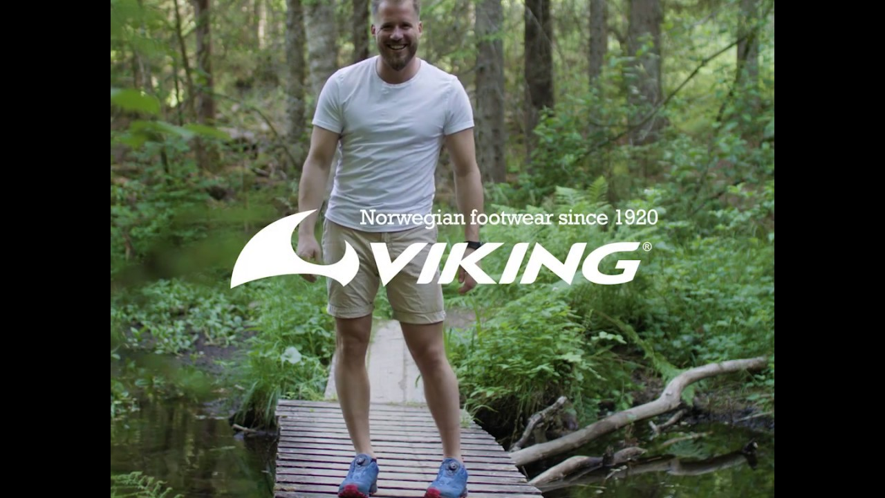 3fa71a6d Go Anywhere with Kjetil Jansrud and Viking Outdoor Footwear - YouTube