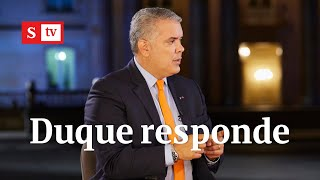 Iván Duque y la reforma tributaria: el presidente responde a todas las críticas | Semana Noticias