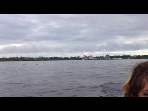My Trip To Peru, South America – Travel & Tourism On A Boat On The Amazon #15 – Arriving In Iquitos!