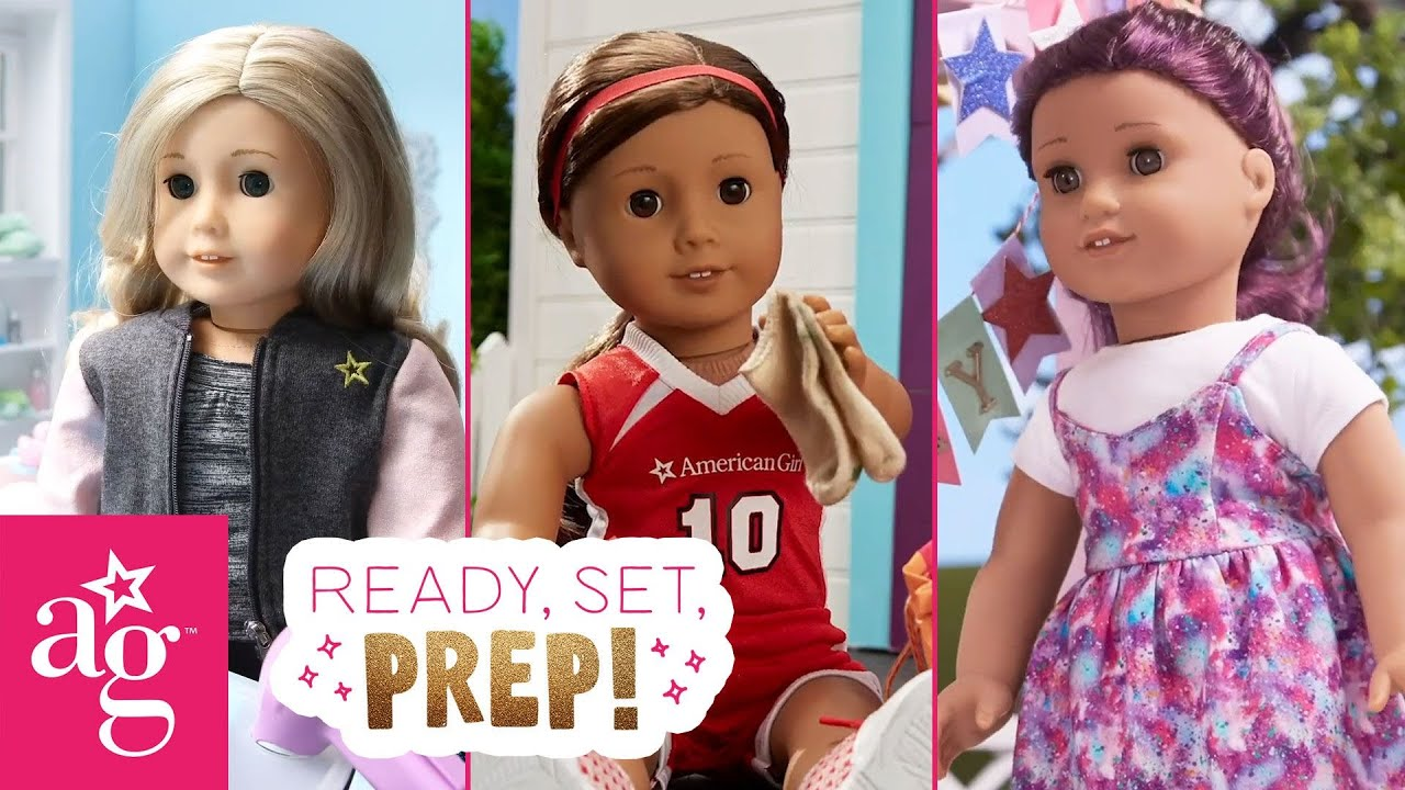 Cheer Tryouts, Game Day & Team USA Birthday Party | Ready, Set, Prep! Stop Motion | American Girl