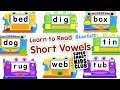 Learn to Read - Short Vowels with Starfall App for Kids