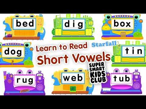 Learn to Read - Short Vowels with StarFall IPhone
