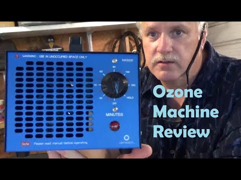 Ozone Machine Review Car Odor