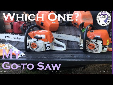 #60: Stihl MS 290 Vs Stihl MS 271. What Is My Go-to Chainsaw?