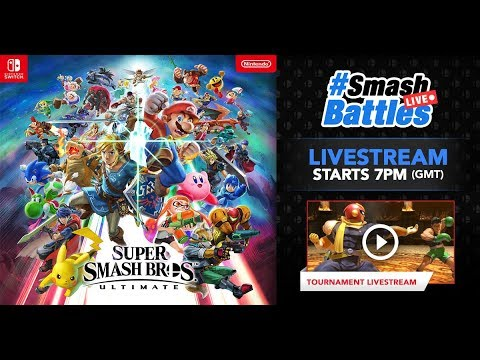 Super Smash Bros. Ultimate - UK Launch GRAND FINALS -#SmashBattlesLive thumbnail