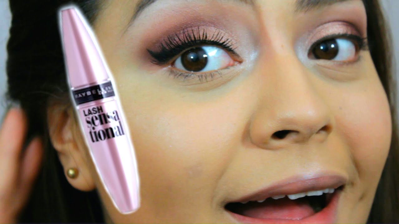 361ab30adf1 Maybelline Lash Sensational Mascara Review & Demo - YouTube
