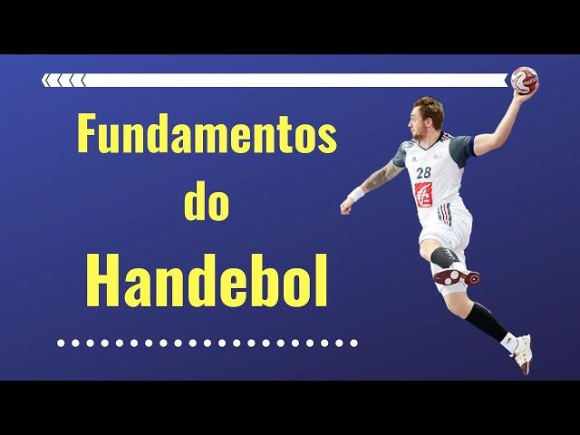 Fundamentos do Handebol  Fundamentos Técnicos do Handebol    ) e5a3d7d0586be