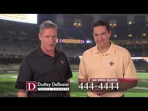 Dudley DeBosier - Saints Post Season  | cj Advertising