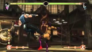 Mortal Kombat 9 - Mileena обучение + комбо