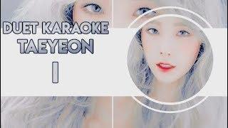 Taeyeon - I (feat. Verbal Jint) [Trio Karaoke / Instrumental ]