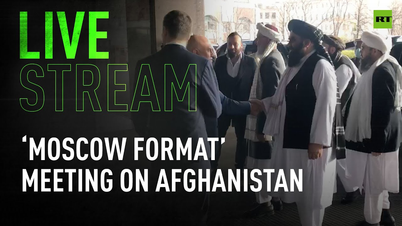 Moscow format meeting on Afghanistan with Taliban delegation and FM Lavrov