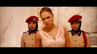 'Furious 7' Fight Scene featuring Ronda Rousey