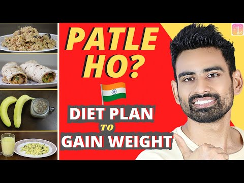 Full Day Indian Diet Plan Weight Gain के लिये (आसान और असरदार) | Fit Tuber Hindi