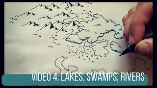 Drawing Swamps, Rivers, and Lakes | Map Tutorial 4