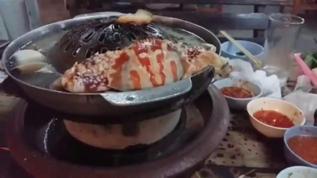 ฟ้าใสหมูกะทะ บุ๊ปเฟ่ทะเล เชียงราย Seafood Buffet - YouTube