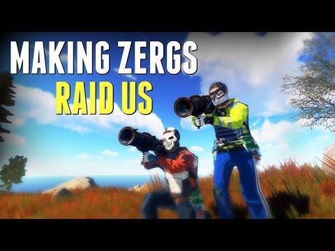 Rust | MAKING ZERGS RAID US thumbnail