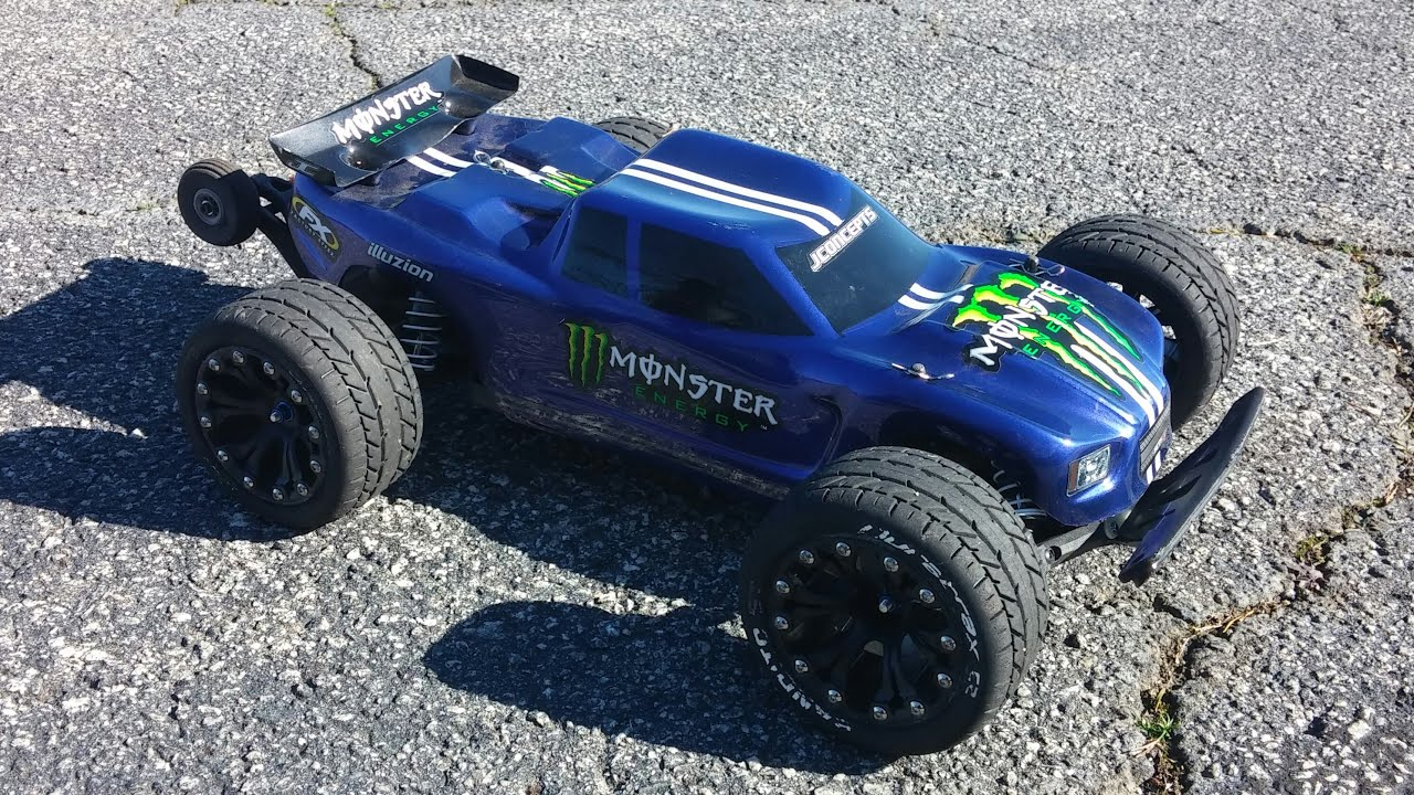 Traxxas Rustler VXL Custom Upgrades And Quick Run JayTee RC
