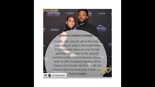 Ryan Coogler's Wife: Did she hold him down or was she out of order?