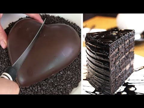 10+-so-yummy-chocolate-cake-decorating-ideas-|-how-to-make-delicious-chocolate-cakes-at-home