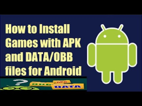 How to install games in android using apk and data/obb  #Smartphone #Android