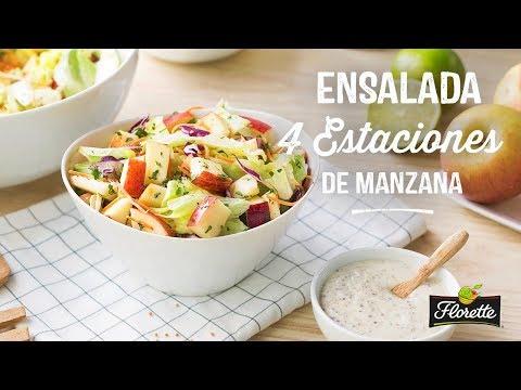 Ensalada 4 Estaciones de Manzana - Recetas Florette