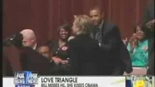 Bill Clinton Denied a Kiss from Hillary thumbnail