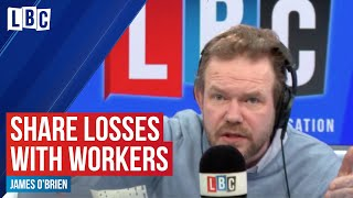 James O'Brien educates business owner who is against sharing profits with workers