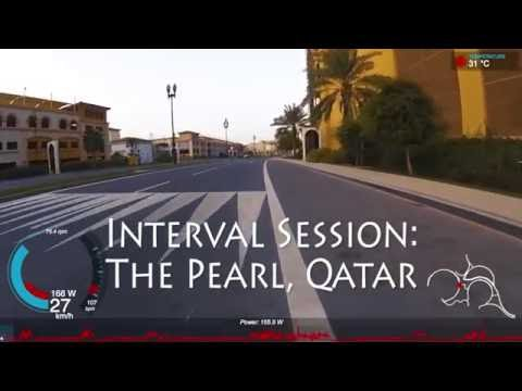 The Pearl, Qatar - Early Morning Segment Hunting - Interval Training