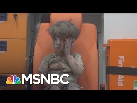 Images Of Injured Syrian Boy Draws Attention | MSNBC