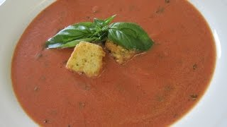 Tomato Soup - How To Make Tomato Basil Soup Recipe