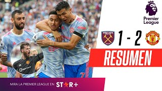 ¡DE GEA FUE EL HÉROE, CRISTIANO ANOTÓ Y EL UNITED GANÓ!   West Ham 1-2 Manchester United   RESUMEN