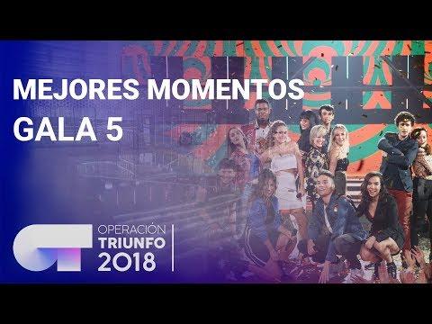 Mejores momentos de la Gala 5   OT 2018