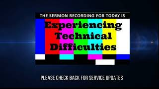 TECHNICAL DIFFICULTIES - 10/17/2021
