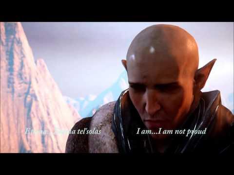 Dirth'Vallem; I Bid You Speak (Elvhen Translation of Say Something)(Solas x Lavellan)