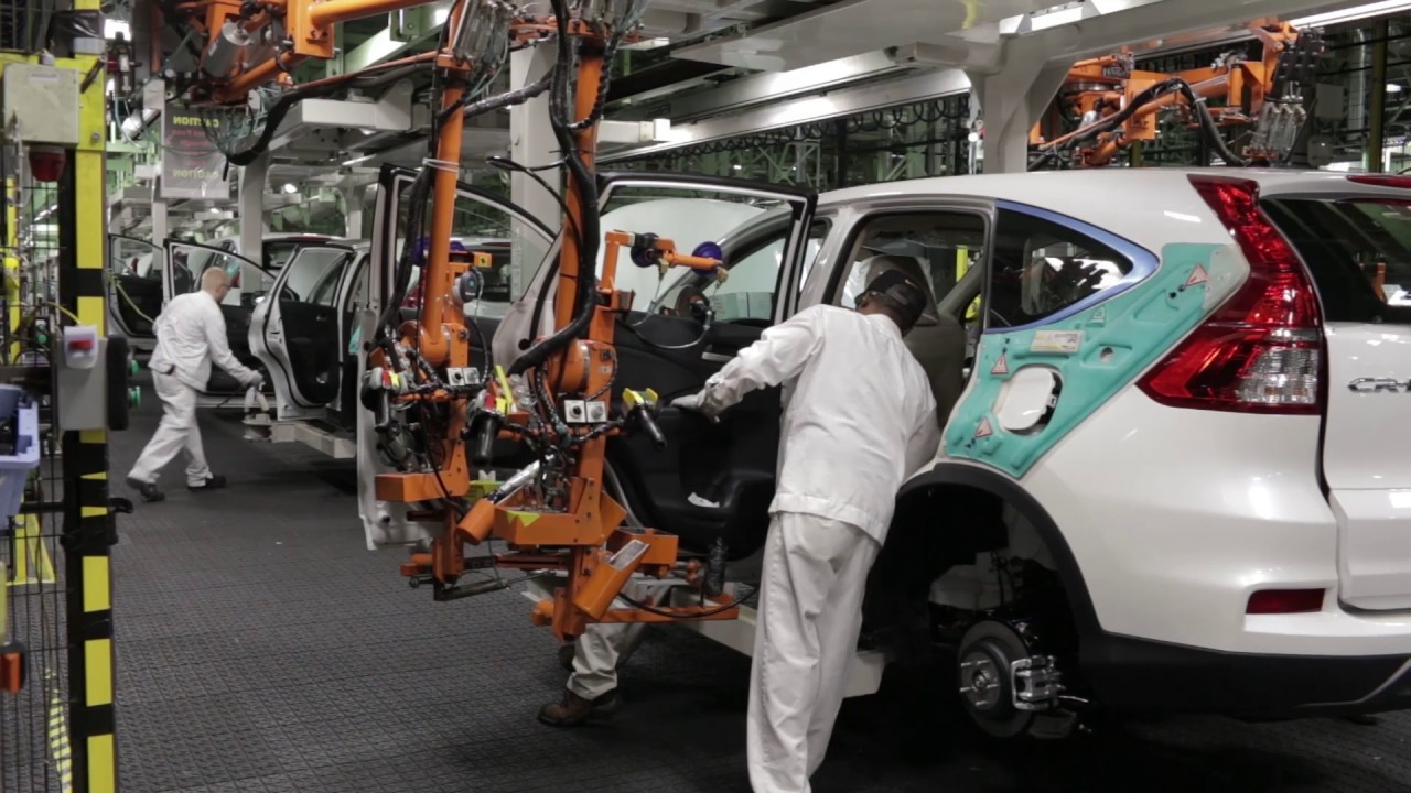 Honda North America >> Honda of America Manufacturing (East Liberty Production Plant) - YouTube