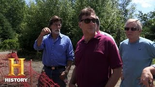 The Curse of Oak Island: Drilling Down: A Visit from Journey
