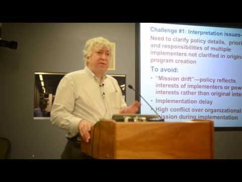 Kent Weaver: Challenges