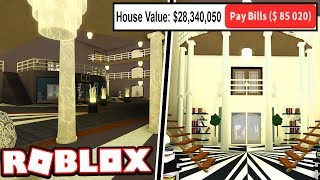 THE FIRST $25 MILLION DOLLAR MANSION IN BLOXBURG!!!   Subscriber Tours (Roblox Bloxburg)