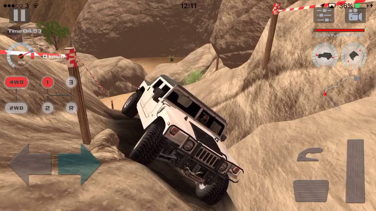 Offroad Drive: Desert Level 133 Hummer H13 Best American Offroad Car | hummer off road video