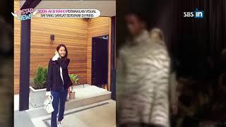 SBS-IN   YOON-AH X MINHO PERWAKILAN VISUAL SM YANG SANGAT BERSINAR DI PARIS