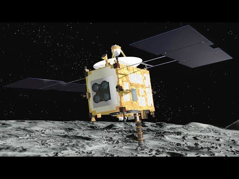 Japanese space probe lands on asteroid