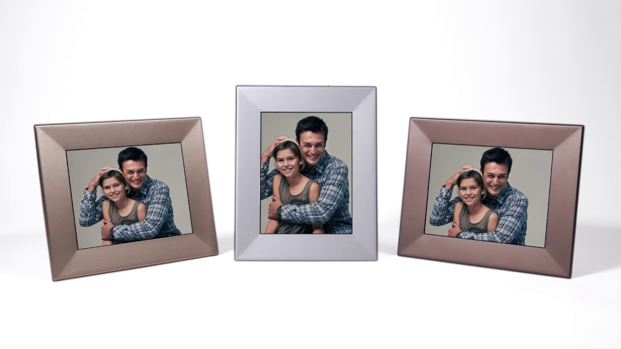presenting the new nixplay iris wifi cloud digital photo frame
