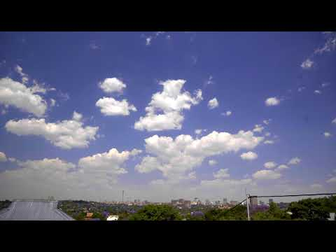 Johannesburg skyline 4K - UHD