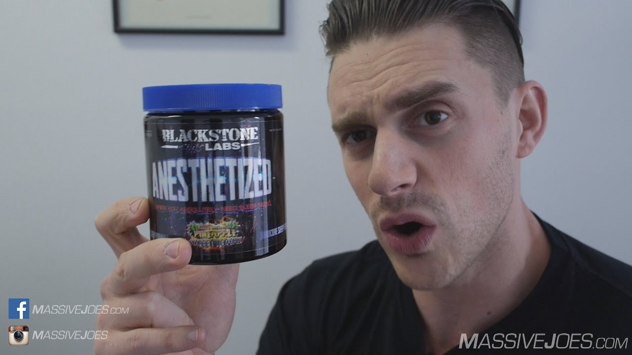 Blackstone Labs Anesthetized Sleep Supplement Review - MassiveJoes com Raw  Review Anaesthetized
