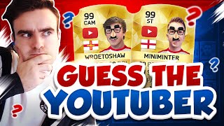 Guess the youtuber challenge!!!