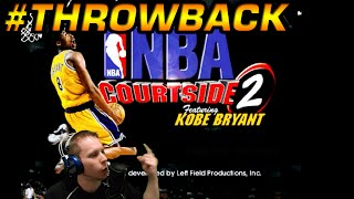 NBA Courtside 2 Featuring Kobe Bryant: Throwback Gameplay
