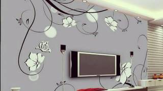 3D Wall Decoration Ideas For TV Wall Units Designs
