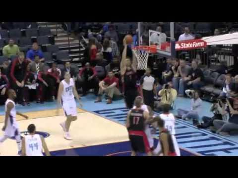 Up FAKE for the Slam | Toronto Raptors Vs Charlotte Bobcats | 11/21/2012 | NBA Season 2012/13