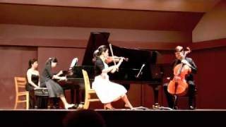 beethoven piano trio in C Minor Op. 1, No. 3 Finale: Prestissimo