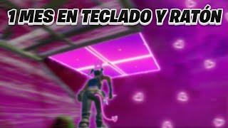 1 MES DE PROGRESO DE MANDO A TECLADO Y RATÓN